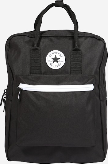 CONVERSE Backpack in black / white, Item view