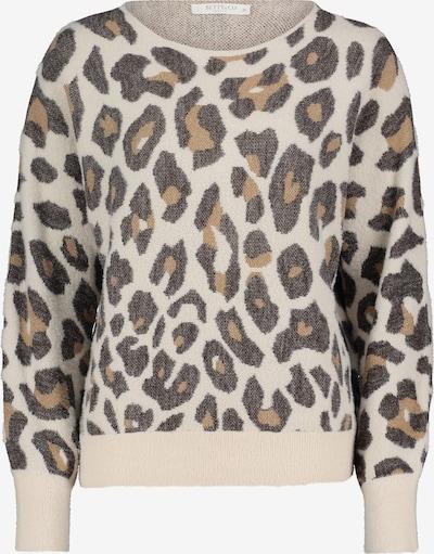 Betty & Co Pullover in braun / grau / weiß, Produktansicht