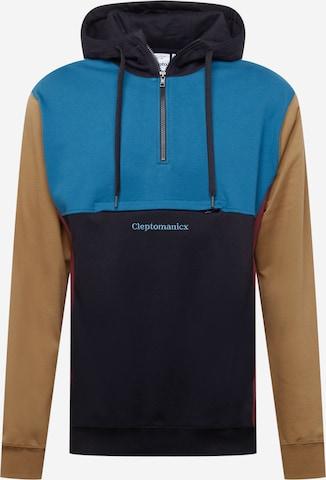 Cleptomanicx Sweatshirt in Schwarz