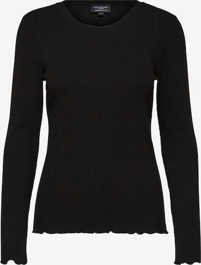 Selected Femme (Tall) Shirt 'ANNA' in schwarz, Produktansicht
