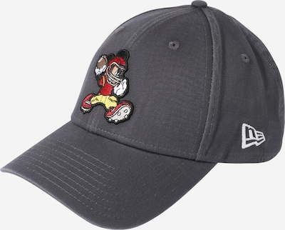 NEW ERA Cap 'CHARACTER SPORTS 9FORTY' in Dark grey / Mixed colours, Item view