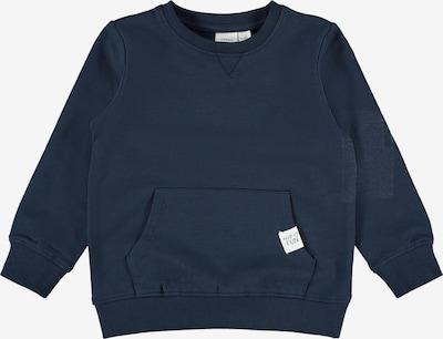 NAME IT Sudadera 'Fajan' en azul oscuro / blanco, Vista del producto
