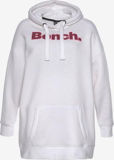 BENCH Sweatshirt in pink / weiß, Produktansicht