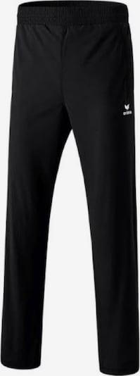ERIMA Jogginghose 'running pants zipper' in schwarz, Produktansicht