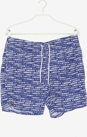 LACOSTE Schwimm-Shorts in 31-32 in Blau