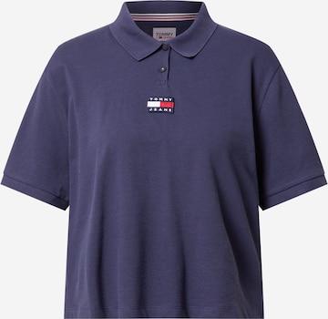 Tommy Jeans - Camiseta en azul
