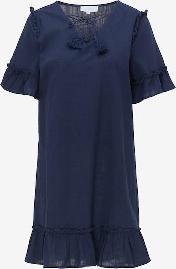 usha BLUE LABEL Robe d'été en bleu foncé, Vue avec produit