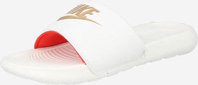 Nike Sportswear Zapatos para playa y agua 'Victori One' en beige claro / coral / blanco, Vista del producto