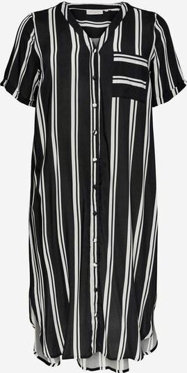 ONLY Carmakoma Robe-chemise 'CARDENIZIA' en noir / blanc, Vue avec produit