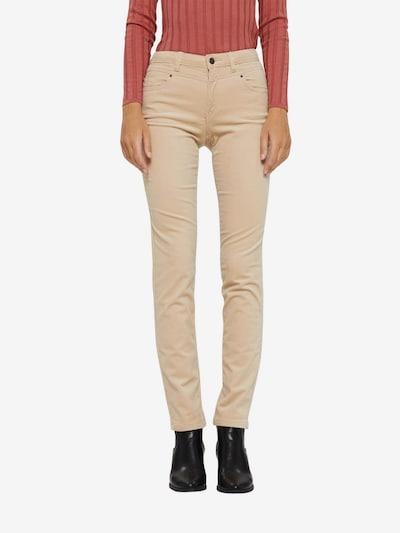ESPRIT Hose in beige, Modelansicht