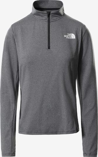 THE NORTH FACE Functioneel shirt 'Riseway' in de kleur Zwart gemêleerd / Wit, Productweergave