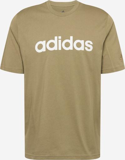 ADIDAS PERFORMANCE Sportshirt in oliv / weiß, Produktansicht