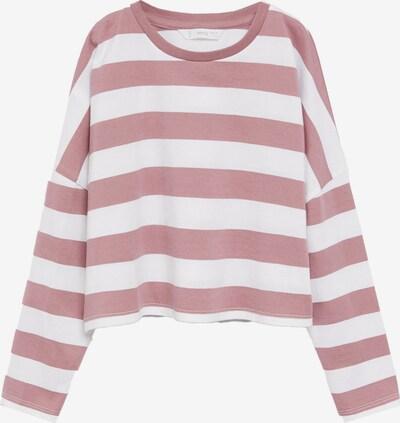 MANGO KIDS T-Shirt en rose ancienne / blanc, Vue avec produit