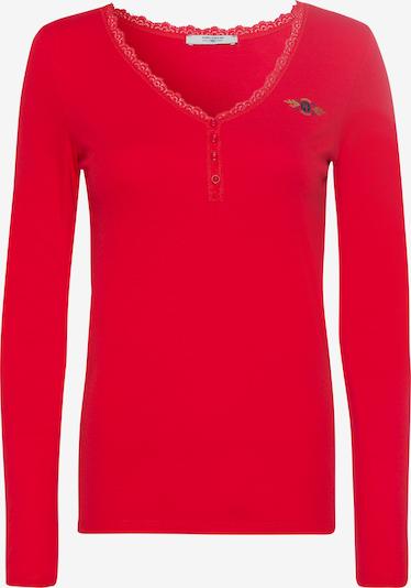 Tom Tailor Polo Team Shirt in rot, Produktansicht