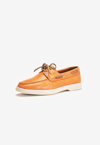INUOVO Schuh in Orange