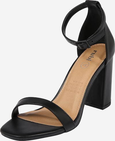 rubi Strap sandal in black, Item view