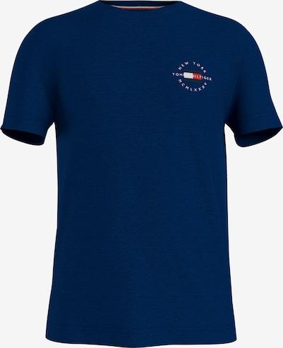 Tricou TOMMY HILFIGER pe albastru noapte / roșu / negru / alb, Vizualizare produs