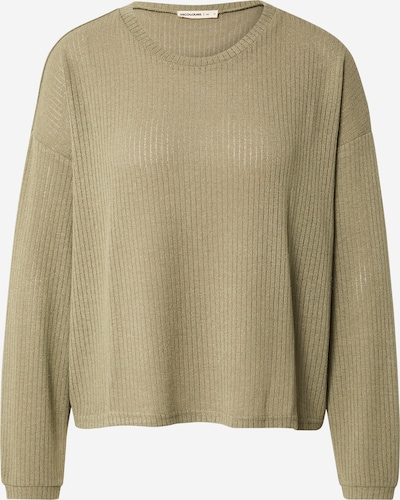 24COLOURS Pullover in oliv, Produktansicht