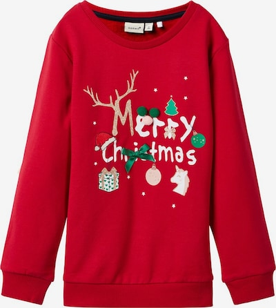 NAME IT Sweatshirt in rot, Produktansicht