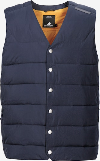 Didriksons Bodywarmer 'VIDAR USX' in de kleur Donkerblauw, Productweergave