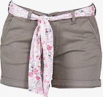 Le Temps Des Cerises Shorts LIVE2 im sommerlichen Look in khaki, Produktansicht