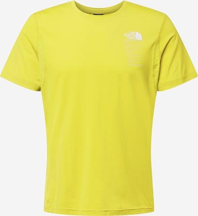 THE NORTH FACE Funktionsshirt 'GLACIER' en limone / weiß, Vue avec produit