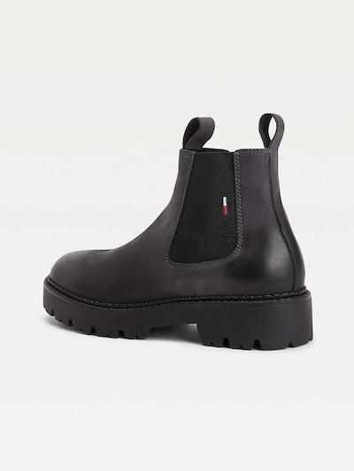 Tommy Jeans Chelsea Boots in schwarz, Produktansicht