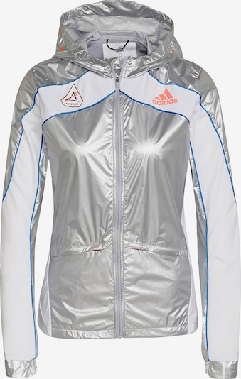 ADIDAS PERFORMANCE Sports jacket 'Marathon Space Race' in blue / silver / white, Item view