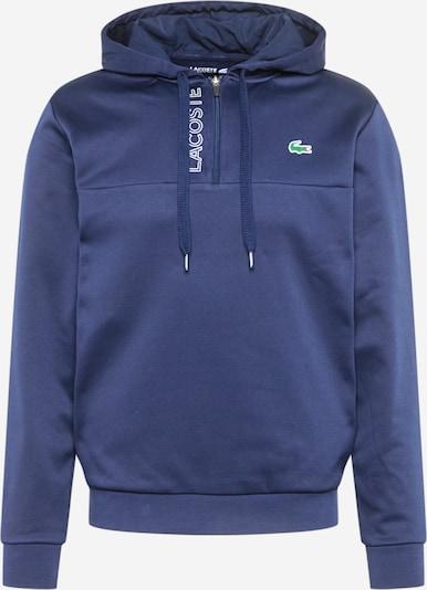 Lacoste Sport Sportsweatshirt in de kleur Navy / Wit, Productweergave