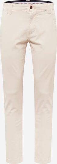 Tommy Jeans Pantalon chino en beige clair, Vue avec produit