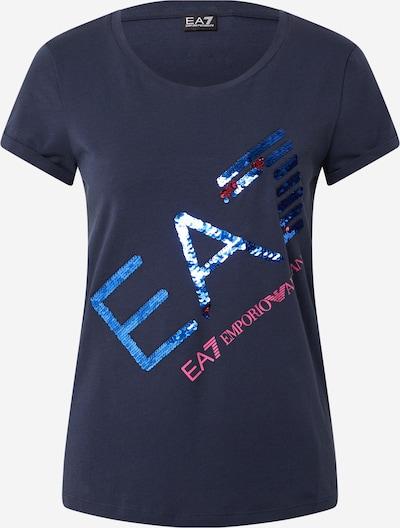 EA7 Emporio Armani Tričko - modrá / námornícka modrá / ružová, Produkt