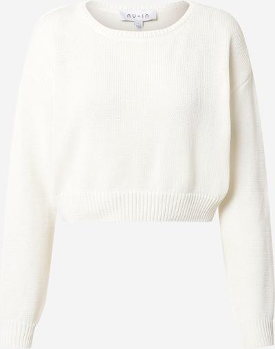 NU-IN Pulover u prljavo bijela: Prednji pogled