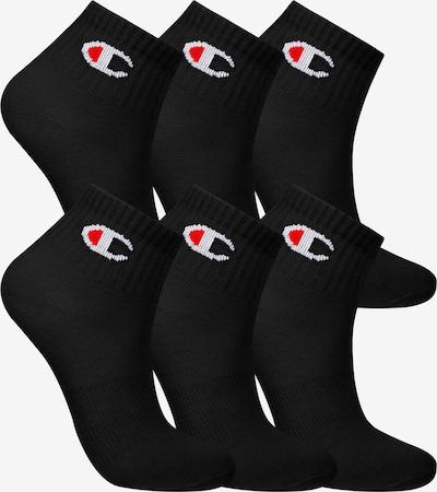 Champion Authentic Athletic Apparel Chaussettes ' 6er-Pack Ankle Socks Kids ' en noir, Vue avec produit