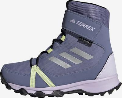 adidas Terrex Wanderschuh 'TERREX Snow CF' in grau / neongrün / pastelllila / weiß, Produktansicht