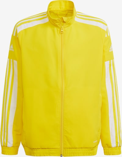 ADIDAS PERFORMANCE Sportjacke in gelb / weiß, Produktansicht