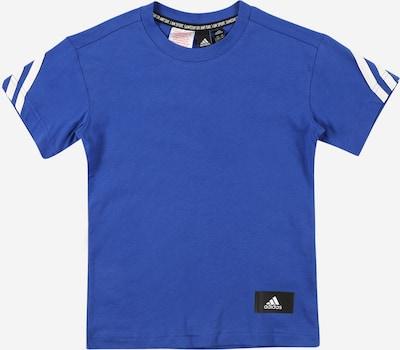 Sportiniai marškinėliai iš ADIDAS PERFORMANCE, spalva – mėlyna / balta, Prekių apžvalga