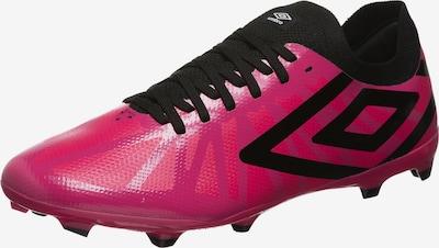 UMBRO Schuh in dunkelpink / schwarz, Produktansicht