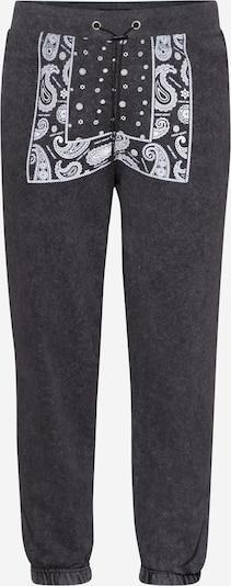 Night Addict Pantalon en noir / blanc, Vue avec produit