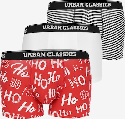 Urban Classics Calzoncillo boxer en rojo / negro / blanco, Vista del producto