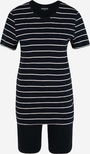 SCHIESSER Pyžamo - čierna / biela, Produkt