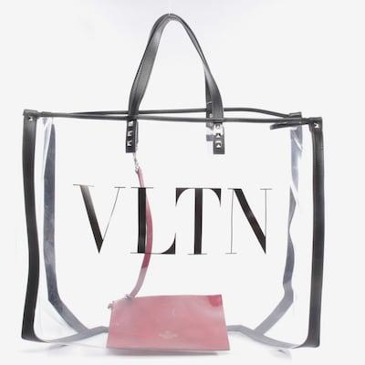 VALENTINO Shopper in L in schwarz / transparent, Produktansicht