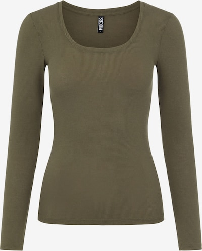 PIECES Shirt in khaki, Produktansicht