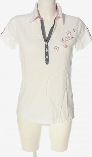 Luis Trenker Polo-Shirt in S in blau / rot / weiß, Produktansicht