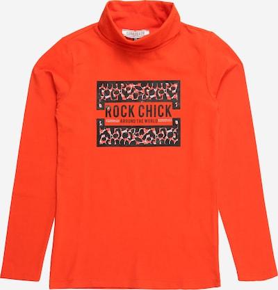 Cars Jeans T-Krekls 'CHAREE' tumši oranžs / melns, Preces skats