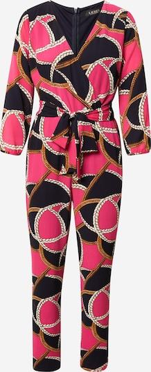 Lauren Ralph Lauren Combinaison 'MEAGAN' en or / gris / rose / noir / blanc, Vue avec produit