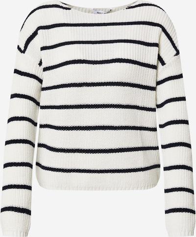 ABOUT YOU Pullover 'Malin Jumper' in creme / schwarz, Produktansicht
