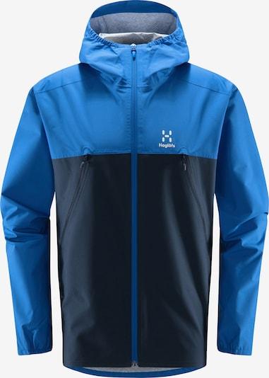 Haglöfs Outdoorjacke 'Spira' in navy / kobaltblau, Produktansicht
