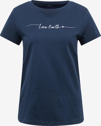 Mavi T-Shirt in blau, Produktansicht