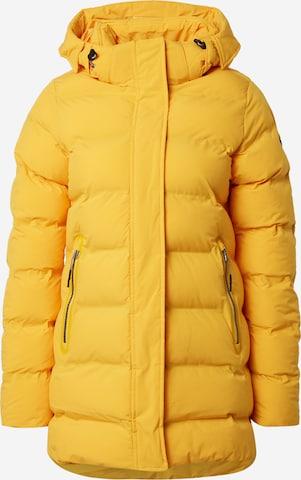 geltona ICEPEAK Laisvalaikio striukė 'AUBREY'