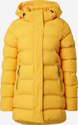 ICEPEAK Outdoorjas 'AUBREY' in de kleur Geel, Productweergave